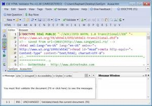 Enlarge CSE HTML Validator Professional Screenshot