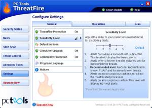 Enlarge ThreatFire Screenshot