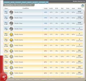 Enlarge Weather Watcher Live Screenshot