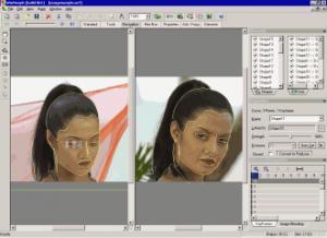 Enlarge WinMorph Screenshot