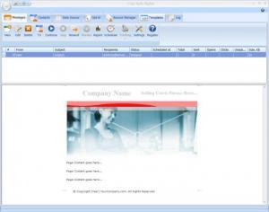 Enlarge Bulk Mailer Screenshot