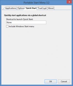 Enlarge Portable Start Menu Screenshot