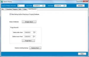 Enlarge Atelier Web IP Locator Screenshot