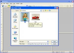 Enlarge Photo Image Inpainter Screenshot