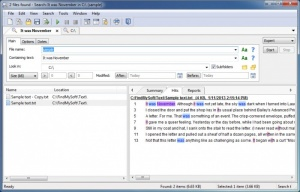 Enlarge FileLocator Lite Screenshot