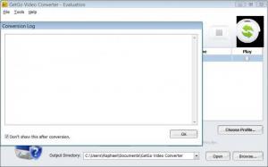 Enlarge GetGo Video Converter Screenshot