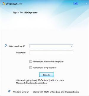 Enlarge SDExplorer Screenshot