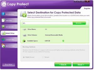 Enlarge Copy Protect Screenshot