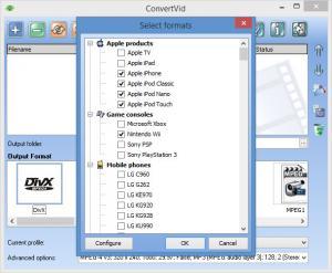 Enlarge ConvertVid Screenshot