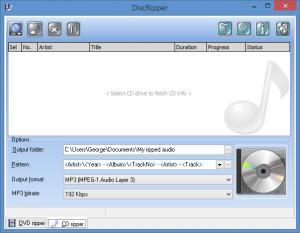 Enlarge DiscRipper Screenshot