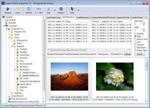 Enlarge Digital Photo Organizer Screenshot