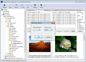 Enlarge Digital Photo Organizer Screenshot