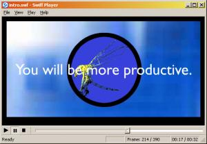 Enlarge Swiff Player Screenshot