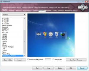 Enlarge Winstep Nexus Screenshot