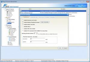 Enlarge Wing FTP Server Screenshot