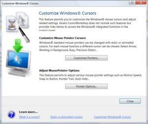 Enlarge Axialis CursorWorkshop Screenshot