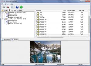 Enlarge MunSoft Data Recovery Suite Screenshot