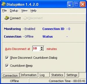 Enlarge DialupMon Screenshot