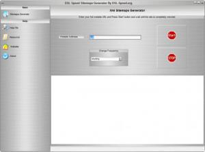 Enlarge DSL Speed Sitemaps Generator Screenshot