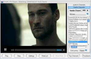 Enlarge ChrisPC JTV Player Screenshot