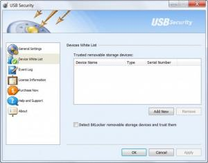 Enlarge USB Security Screenshot