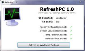 Enlarge RefreshPC Screenshot