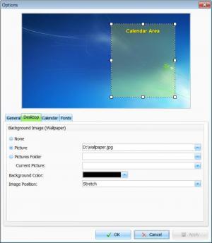 Enlarge Interactive Calendar Screenshot