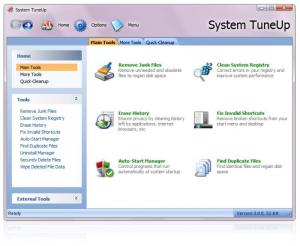 Enlarge System TuneUp Screenshot