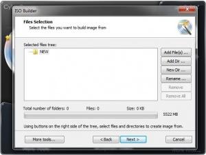 Enlarge CyberPower Disc Creator Screenshot