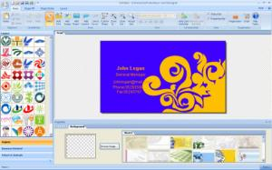 Enlarge EximiousSoft Business Card Designer Screenshot