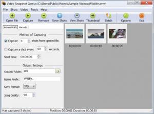 Enlarge Video Snapshots Genius Screenshot