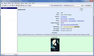 Enlarge Personal Video Database Screenshot
