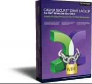 Enlarge Casper Secure Drive Backup Screenshot