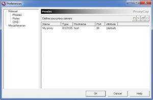 Enlarge ProxyCap Screenshot