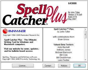 Enlarge Spell Catcher Plus Screenshot