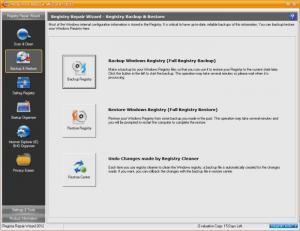 Enlarge Registry Repair Wizard Screenshot