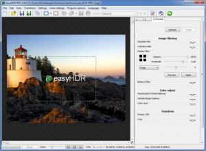 Enlarge easyHDR PRO Screenshot