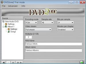 Enlarge DVD2one Screenshot