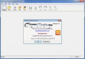 Enlarge Cheque Factory Screenshot
