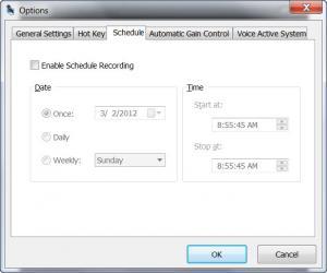 Enlarge Free Sound Recorder Screenshot