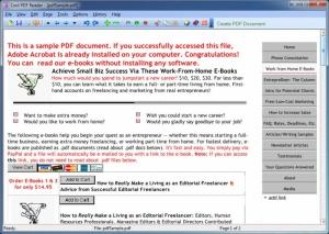 Enlarge Cool PDF Reader Screenshot