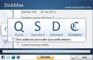 Enlarge DiskMax Screenshot