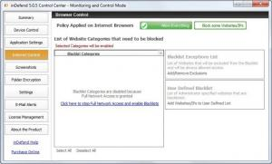 Enlarge inDefend Internet Security Screenshot