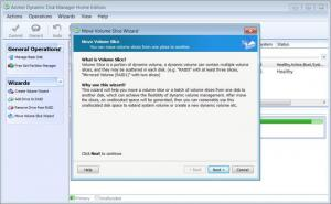 Enlarge Aomei Dynamic Disk Manager Home Edition Screenshot