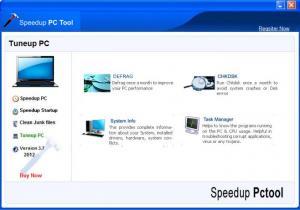 Enlarge Speedup PcTool Screenshot