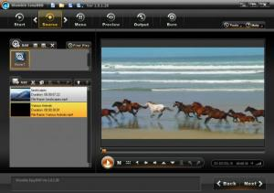 Enlarge Womble EasyDVD Screenshot
