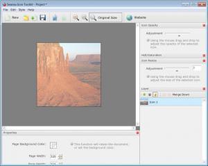 Enlarge Icon Tool Kit Screenshot