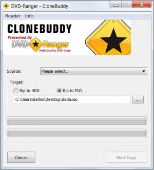Enlarge CloneBuddy Screenshot