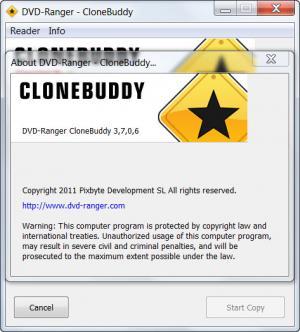 Enlarge CloneBuddy Screenshot