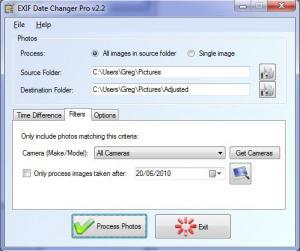 Enlarge EXIF Date Changer Screenshot
